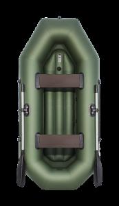 Фото лодки Аква-Оптима 260 НД зеленая (Уценка)