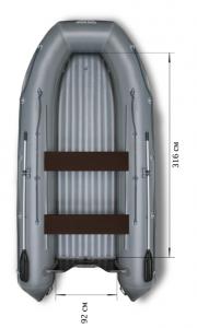 Фото лодки Флагман 420 НДНД