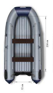 Фото лодки Флагман 350 НДНД