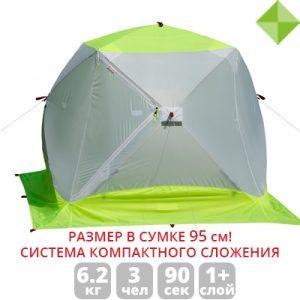 Фото Зимняя палатка Лотос Куб 3 Компакт ЭКО
