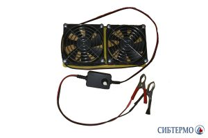 Фото Кассета из двух вентиляторов для СТ-1,6; 2,3 с диммером и дисплеем